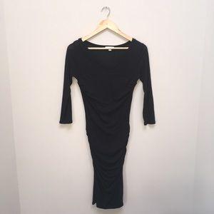 James Perse long sleeve little black dress. Size 2